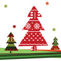 Christmas background with Christmas tree Royalty Free Stock Image