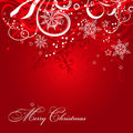 Christmas background with decoration Stock Photo