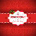 Christmas background with gift box illustration copy space eps file contains transparency effects in gradients Royalty Free Stock Photo