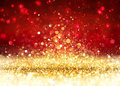 Christmas Background - Golden ...