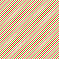 Christmas background with green, red and white diagonal stripes Royalty Free Stock Photo