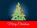 Christmas background. International Christmas tree. flags of the world. Vector