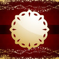 Christmas background label Royalty Free Stock Photos