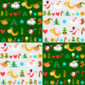 Christmas background, New Year's wallpapers Stock Images