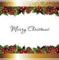 Christmas background with place for your text Stock Photography