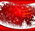 Christmas background in red Royalty Free Stock Photography
