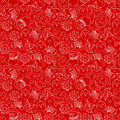 Christmas background seamless pattern red Stock Photography