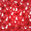 Christmas background, seamless tiling, great choice for wrapping paper pattern Royalty Free Stock Photo