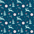 Christmas background, seamless tiling pattern texture vintage