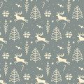 Christmas background, seamless tiling pattern texture vintage Royalty Free Stock Photo