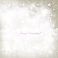 Christmas background with snowflakes and boke effect Stock Photos