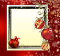 Christmas background with space for text illustration Royalty Free Stock Photos