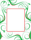 Christmas Background Template Royalty Free Stock Photo