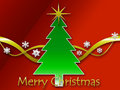 Christmas background with text Royalty Free Stock Images