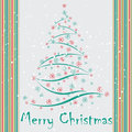 Christmas background tree abstract Royalty Free Stock Photography