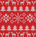 Christmas background with tree made of wool eps Stock Photo