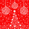 Christmas background vector is a illustration Stock Photos