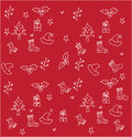 Christmas background for wall papers and wrapping papers Royalty Free Stock Photography