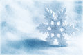 Christmas background or winter with snowflake Stock Photos
