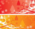 Christmas backgrounds, vector Royalty Free Stock Photo
