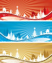 Christmas backgrounds, vector Royalty Free Stock Photos