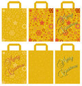 Christmas Bags Stock Images