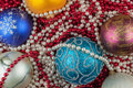 Christmas ball and decoration can be used as background Royalty Free Stock Photography