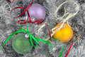Christmas ball and decoration can be used as background Royalty Free Stock Image