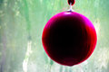 Christmas ball tree decoration red from Royalty Free Stock Photography