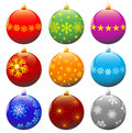 Christmas balls. Stock Images