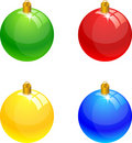 Christmas balls. Royalty Free Stock Image