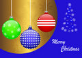 Christmas balls. vector 10eps. Stock Images