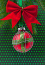 Christmas balls on white background Royalty Free Stock Photo
