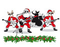 Christmas band Royalty Free Stock Photo