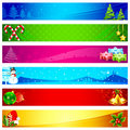 Christmas Banner Stock Photography