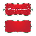 Christmas banner Stock Photos