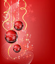 Christmas banner_4 Stock Photos
