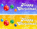 Christmas banner Royalty Free Stock Photos