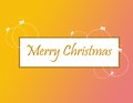 Christmas banner decorative for your design Royalty Free Stock Image