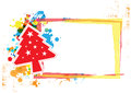 Christmas banner design Royalty Free Stock Photography