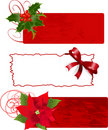 Christmas banners (frames) Stock Photography