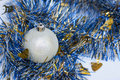 Christmas Baubel Stock Photography