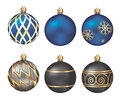 Christmas bauble isolated on white background illustration decoration Stock Image
