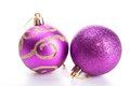 Christmas baubles Royalty Free Stock Images