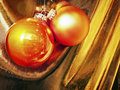Christmas baubles beautiful at a decoration nice background Royalty Free Stock Image