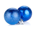 Christmas baubles decor Royalty Free Stock Photo