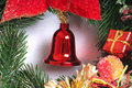 Christmas bell Royalty Free Stock Images