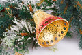 Christmas bell Royalty Free Stock Photo