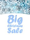 Christmas big sale design template eps Royalty Free Stock Images