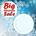 Christmas big sale template eps Stock Photography